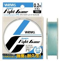 Плетенка VARIVAS Light Game PE X4 Centermarking 150 м цв. Голубой № 0,2