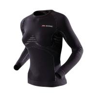 Термофутболка X-BIONIC Lady Extra Warm Uw Shirt Long Sleeve цвет Черный / Жемчужно-серый