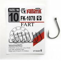 Крючок одинарный FANATIK FK-1078 Fart № 10 (8 шт.)