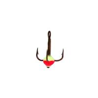 Крючок тройной LUCKY JOHN с каплей код цв. FR № 14 (10 шт.)
