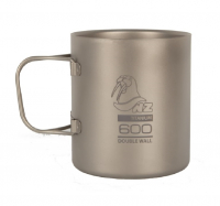 Термокружка NOVAYA ZEMLYA Ti Double Wall Mug (титан) 600 мл