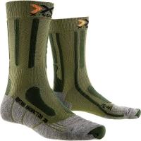 Носки X-BIONIC X-Socks Hunting Short цвет Изумрудный