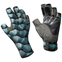 Перчатки рыболовные BUFF Angler II Gloves цвет Tarpon Scales