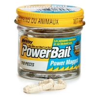 Опарыш BERKLEY PowerBait Power Maggot цв. Белый (110 шт.)