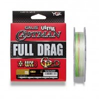 Плетенка YGK Ultra Castman Full Drag WX8 GP-D 200 м цв. Многоцветный # 3