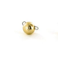Чебурашка вольфрамовая TSURIBITO Tungsten Weights Calibrated Jig Sinker 1,5 г цв. золото (8 шт.)