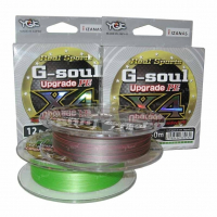Плетенка YGK Real Sports G-Soul Upgrade PEx8 100 м цв. зеленый # 0,4