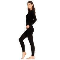 Комплект термобелья DR.WOOL Wool Aeroeffect Woman цвет Black