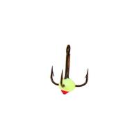 Крючок тройной LUCKY JOHN с каплей код цв. F № 10 (10 шт.)