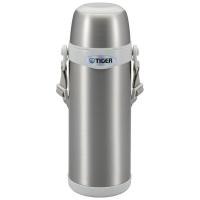 Термос TIGER MBI-A080 Clear Stainless White 0,8 л цв. серебристый с белым