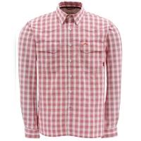 Рубашка SIMMS Big Sky LS Shirt цвет Wine Plaid