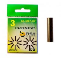 Трубка обжимная FISH SEASON Leader Sleeves 0,6 мм № 0 (20 шт.)