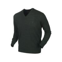 Пуловер HARKILA Glenmore pullover цвет Forest Green