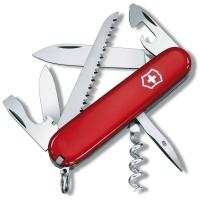 Нож VICTORINOX Camper р. 91 мм, 13 функций, цв. красный, карт. коробка