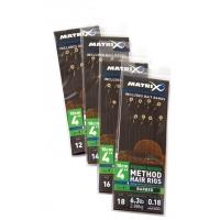 Готовая оснастка MATRIX Hair Rig Feeder Riggers № 12 0,165 мм