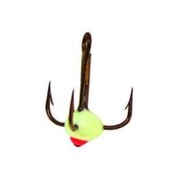 Крючок тройной LUCKY JOHN для приманок с каплей № 10 код цв. F (10 шт.)