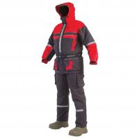 Комбинезон-поплавок SEAFOX Extreme 2Pc цвет черно-красный