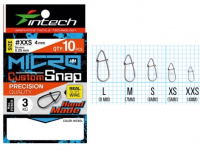 Застежка INTECH Micro Custom Snap р. M (10 шт.)