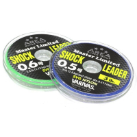 Леска VARIVAS Trout Area Master Limited Shock Leader SVG Nylon 0,4 30 м 0,104 мм цв. прозрачный