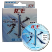Леска SHIMANO Ice Silkshock, 0,10, 50 м, цв. прозрачный