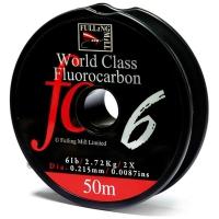 Поводковый материал FULLING MILL World Class Fluorocarbon 50 м 0,275 мм