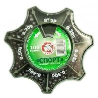 Набор грузов ТРИ КИТА Спорт 100 гр.