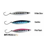 Пилькер SAVAGE GEAR LRF Psycho Sprat (3 шт.) цв. Sardine, White Glow, Pink Flash