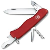 Нож VICTORINOX Picknicker р. 111 мм, 11 функций, цв. красный, карт. коробка