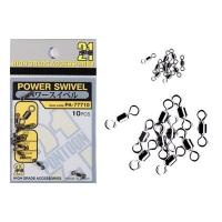 Вертлюг PONTOON 21 Power Swivel цв. черный #3 (9 шт.)