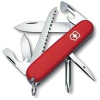 Нож VICTORINOX Hiker р. 91 мм, 13 функций, цв. красный, карт. коробка
