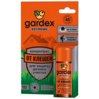 Концентрат GARDEX Extreme для защиты дачного участка от клещей