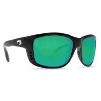 Очки COSTA DEL MAR Zane 580 P р. L цв. Black цв. ст. Green Mirror