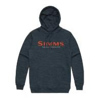 Толстовка SIMMS Logo Hoodie цвет Navy Heather