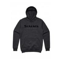 Толстовка SIMMS Logo Hoody цвет Charcoal Heather