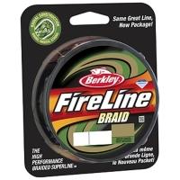 Плетенка BERKLEY Fireline Green 110 м 0,10 мм 5,9 кг