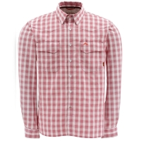 Рубашка SIMMS Big Sky LS Shirt цвет Wine Plaid