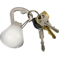 Брелок для ключей NITE IZE GetLit с открывашкой и фонариком, стальной