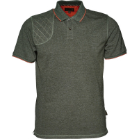 Рубашка SEELAND Clayton Classic Polo цвет Forest Night Melange
