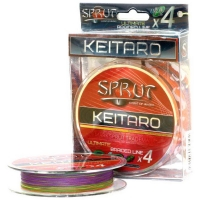 Плетенка SPRUT Keitaro Ultimate Braided Line x4 140 м 0,12 мм 9,1 кг