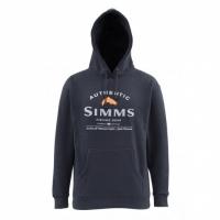 Толстовка SIMMS Badge of Authenticity Hoody цвет Midnight