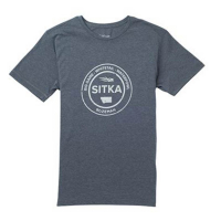 Футболка SITKA Seal Tee Ss цвет Lead Heather