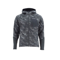 Куртка SIMMS Katafront Hoody цвет Hex Camo Carbon