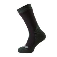 Носки SEALSKINZ Trekking Thick Mid Sock цвет Black / Racing Green
