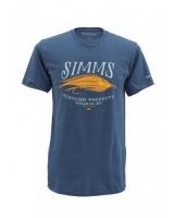 Футболка SIMMS Legacy Streamer SS T-Shirt цвет Navy
