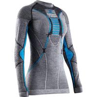 Термофутболка X-BIONIC Apani4.0 Merino Shirt Round Neck Lg Sl W цвет Черный / Серый / Бирюзовый