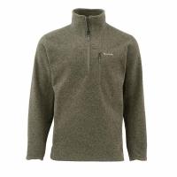 Пуловер SIMMS Rivershed Sweater Quarter Zip цвет Loden