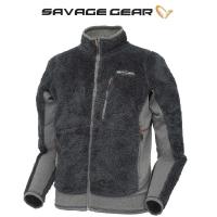Толстовка SAVAGE GEAR Simply Savage High Loft Fleece цвет серый