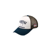 Кепка VARIVAS VAC-31 Cotton Half Mesh Cap цв. Navy/ Khaki