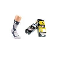 Носки FINNTRAIL Coolmax 3102 цвет Серый / черный