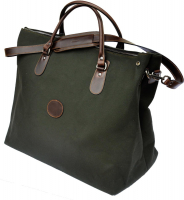 Сумка MAREMMANO JL600G Canvas and Leather Travel Bag